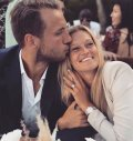 Lucas Pouille and his girlfriend got engaged