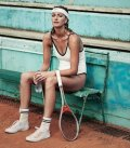 Petra Kvitova speaks about great photoshoot: I had to lie down on clay