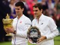 Roger Federer: 'We are happy that Novak Djokovic is ranked higher now'