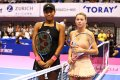 WTA Tokyo: Naomi Osaka powers past Giorgi to set Karolina Pliskova clash