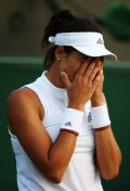 What may be the key to court success for Garbine Muguruza?