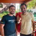 Roger Federer had no bodyguards. He was so relaxed - Hitting partner