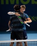 ATP Doha: David Goffin and Pierre-Hugues Herbert claim doubles title