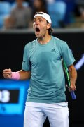 Lucas Pouille creams Borna Coric to enter Australian Open quarterfinals