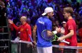David Goffin and Lucas Pouille team up to play doubles in Monte Carlo