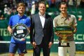 David Goffin: 'Roger Federer improved his game to stay on the Tour'