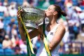 WTA Eastbourne: Karolina Pliskova downs Angelique Kerber for a perfect week