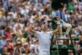 Novak Djokovic counts to nine Wimbledon semi-final to join Roger Federer