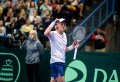 Emil Ruusuvuori reacts to big Davis Cup win over Dominic Thiem