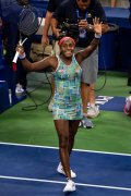 Everything's coming up luck for Coco Gauff