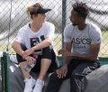 Gael Monfils: 'Elina Svitolina decides where we will go on holiday'