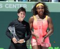 Carla Suarez Navarro: 'Serena Williams' strongest weapon is...'