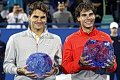 On this day: Rafael Nadal edges Roger Federer for first Mubadala WTC crown