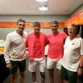 "Roger Federer: ""We are very lucky to have Bill Gates' support"""