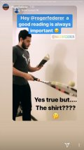 Roger Federer Responds to Fan Who Did His Challenge Wearing a Rafael Nadal T-Shirt
