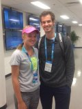 Katie Swan: Andy Murray is really nice, whenever I need anything he's there