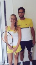 Elina Svitolina and Feliciano Lopez Agree on Roger Federer's proposal