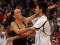 Jelena Jankovic comes out of retirement to play mixed doubles with Novak Djokovic