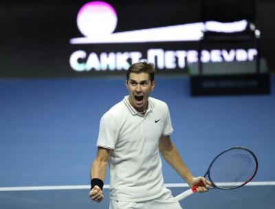 Egor Gerasimov shows respect for Andy Murray after Montpellier clash