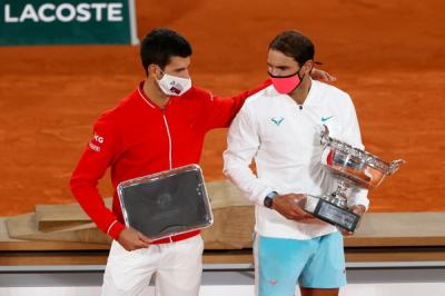 'Novak Djokovic didn't show up against Rafael Nadal in Roland Garros final,' says..