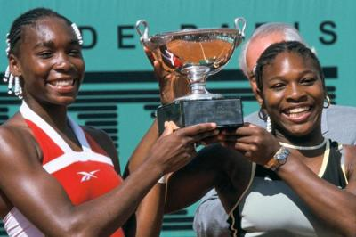 Serena and Venus Williams share precious photos from their first Grand Slam victory