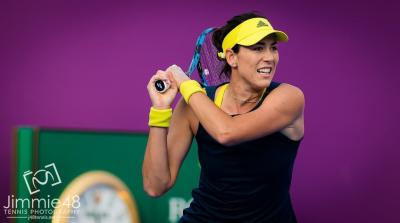 Garbine Muguruza silver lining tarnished by Kvitova at Doha final