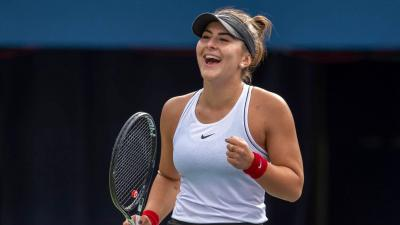 Out but not down, Bianca Andreescu gains in stamina and competitive play