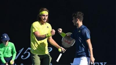 ATP Rome: Tsitsipas brothers suffer loss in doubles opener