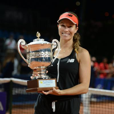 Palermo Open: Danielle Collins makes it to the podium with maiden trophy