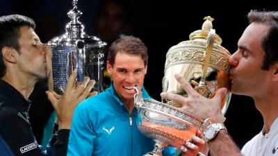 'I grew up watching Roger Federer, Rafael Nadal and Djokovic...', says young ace