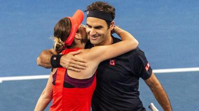 'It's both for Roger Federer and Martina Hingis', says WTA star