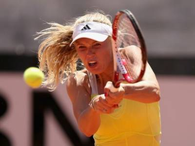 WTA Rome - Caroline Wozniacki snatches defeat from the jaws of victory