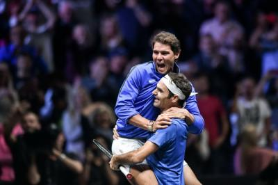 Rafael Nadal and Roger Federer prepare to join forces at 2022 Laver Cup in London
