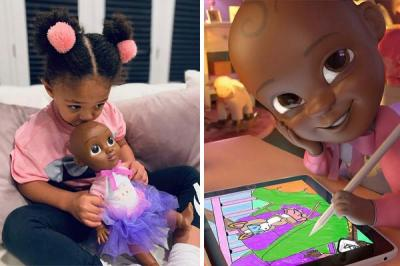 Doll of Serena Williams's daughter to spark the next Disney Pixar universe