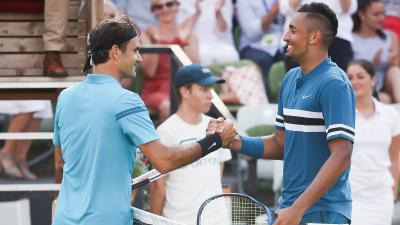 Nick Kyrgios on Roger Federer: GOAT, I was very intimidated first time I saw him