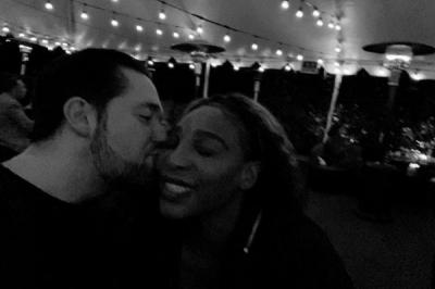 Serena Williams and Ohanian have a date night in the wild