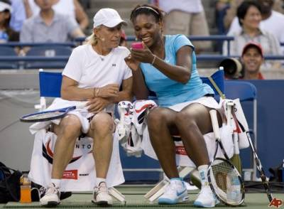Navratilova believes Serena Williams can win more than 20 Grand Slams if she stays healthy
