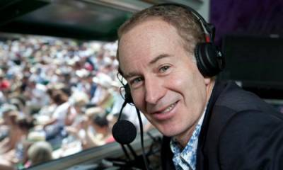 Tennis - John McEnroe launches ATP book on year-end world no. 1s