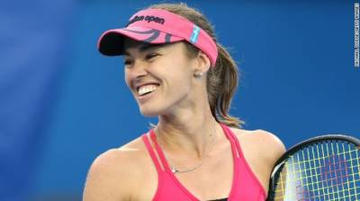 Tennis - Martina Hingis leads Washington Kastles to win over Boston Lobsters