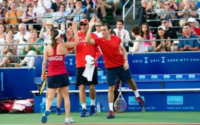 Tennis - Washingon Kastles score another win over NY Sportimes for eighth win in 10 matches