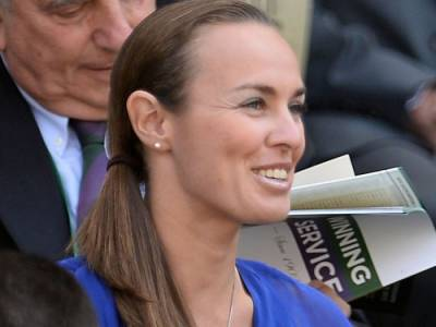 Tennis - Martina Hingis is named MVP of the World Team Tennis season