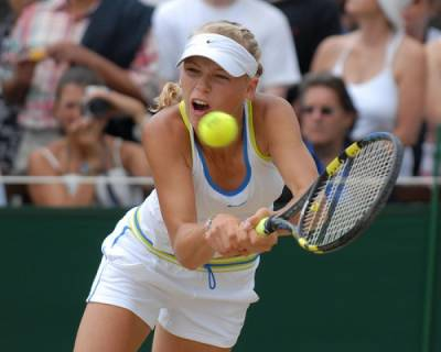 WTA - Wozniacki shows father the door