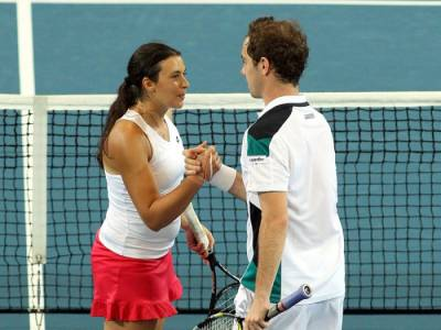Tennis - Marion Bartoli reveals that she used to date Richard Gasquet when she was 16 years old
