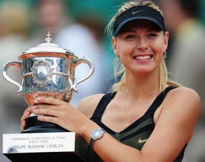 Maria Sharapova hopes to continue love affair with Paris