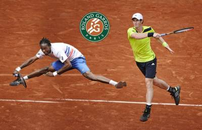 French Open Wednesday Preview! Gael Monfils vs. Andy Murray match of the day.