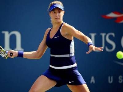 Eugenie Bouchard: Playing inside Arthur Ashe Stadium Special