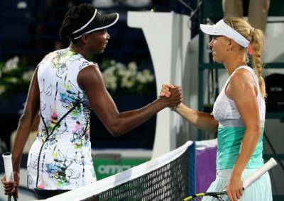 Caroline Wozniacki and Venus Williams in the Entry List for Auckland in 2015