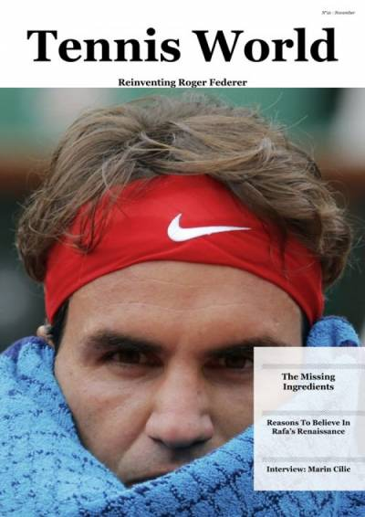 Read the latest issue of Tennis World Magazine