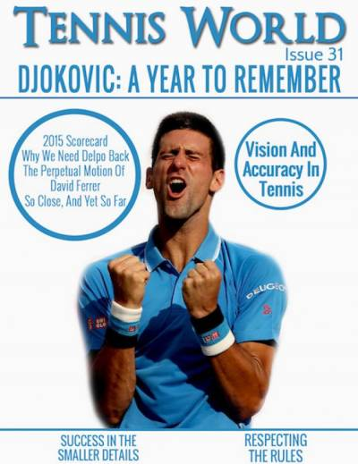 Tennis World of December is online