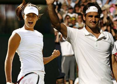 Ana Ivanovic Confesses Roger Federer Would be her Dream Doubles Partner